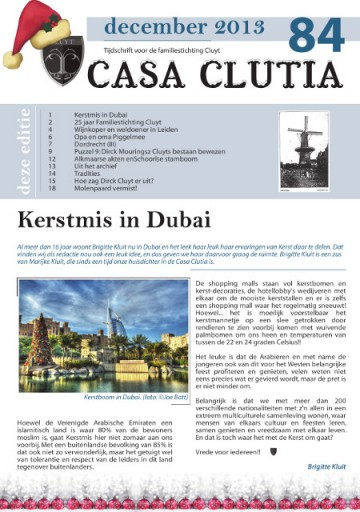 Voorkant Casa Clutia 84